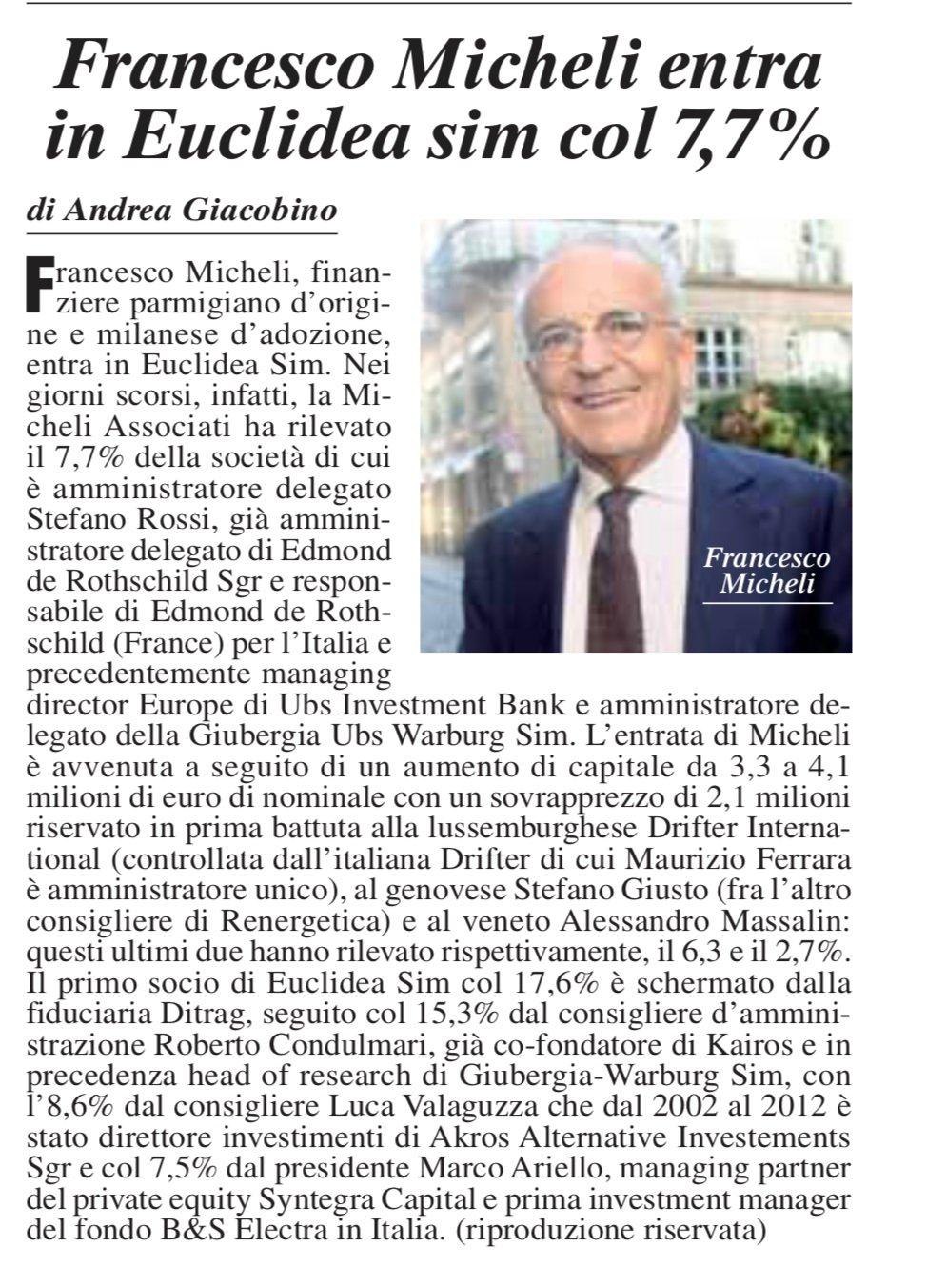 Milano-Finanza-Euclidea-entra-Micheli